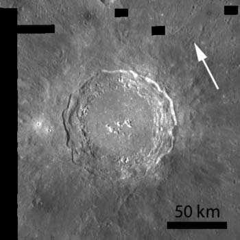 LRO image from Sept. 30, 2010