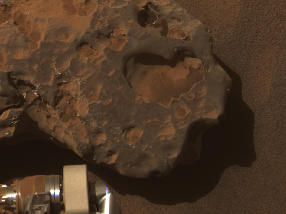 Opportunity's Close-up of a Meteorite