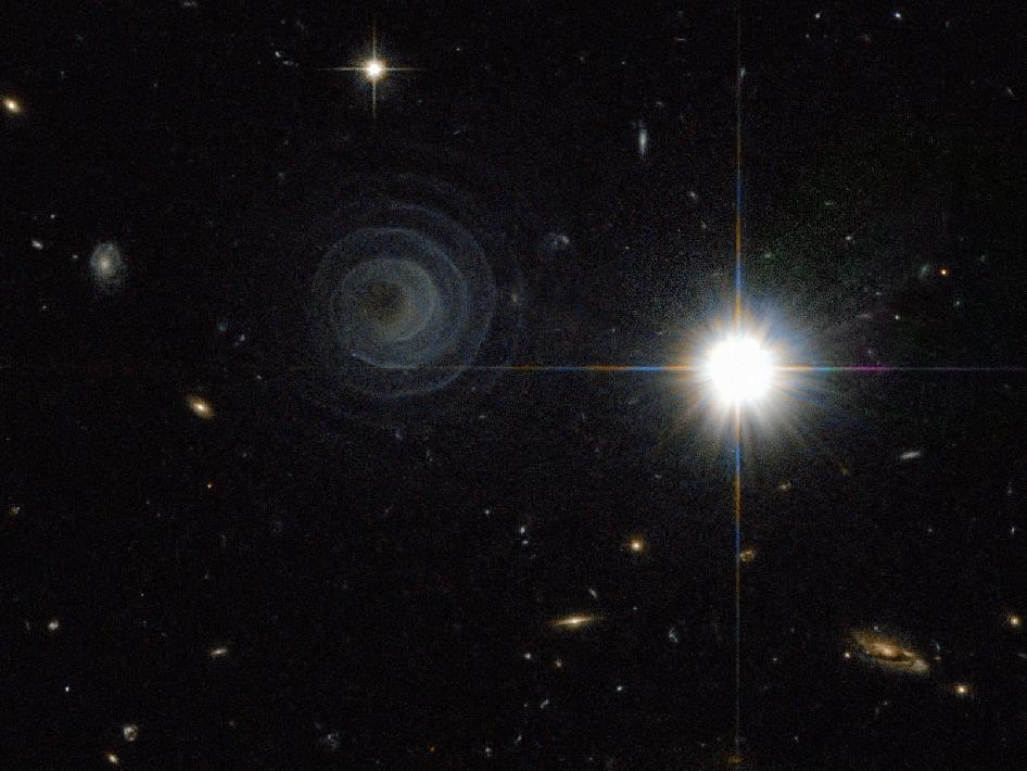 NASA Films Deep Space Spiral
