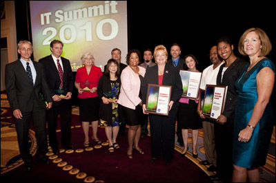Photo of IT Summit 2010 Award Winners