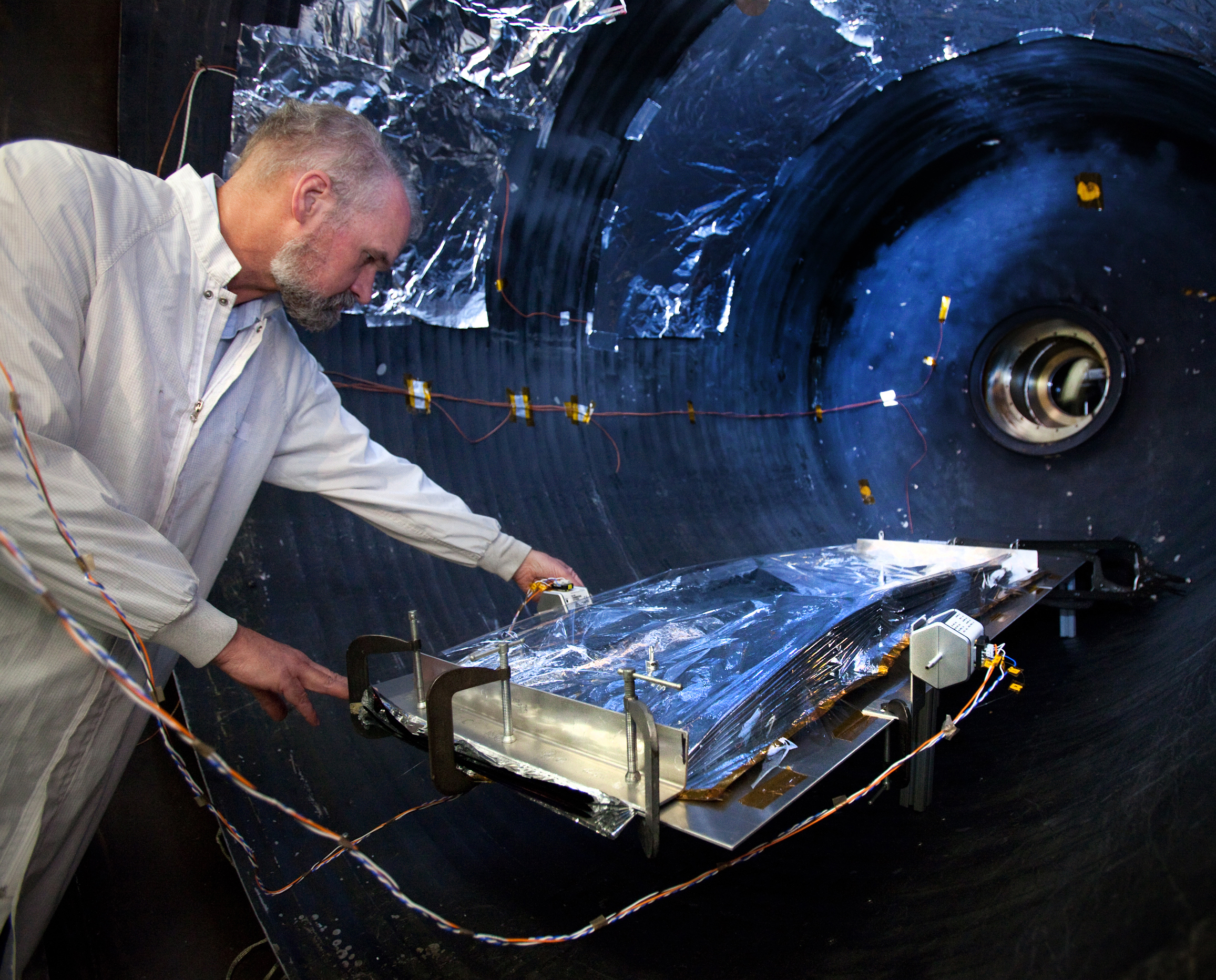 Webb Air Ventilator : Nasa webb telescope sunshield passes launch