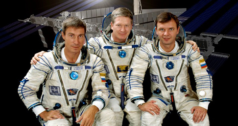 The Expedition 1 crew