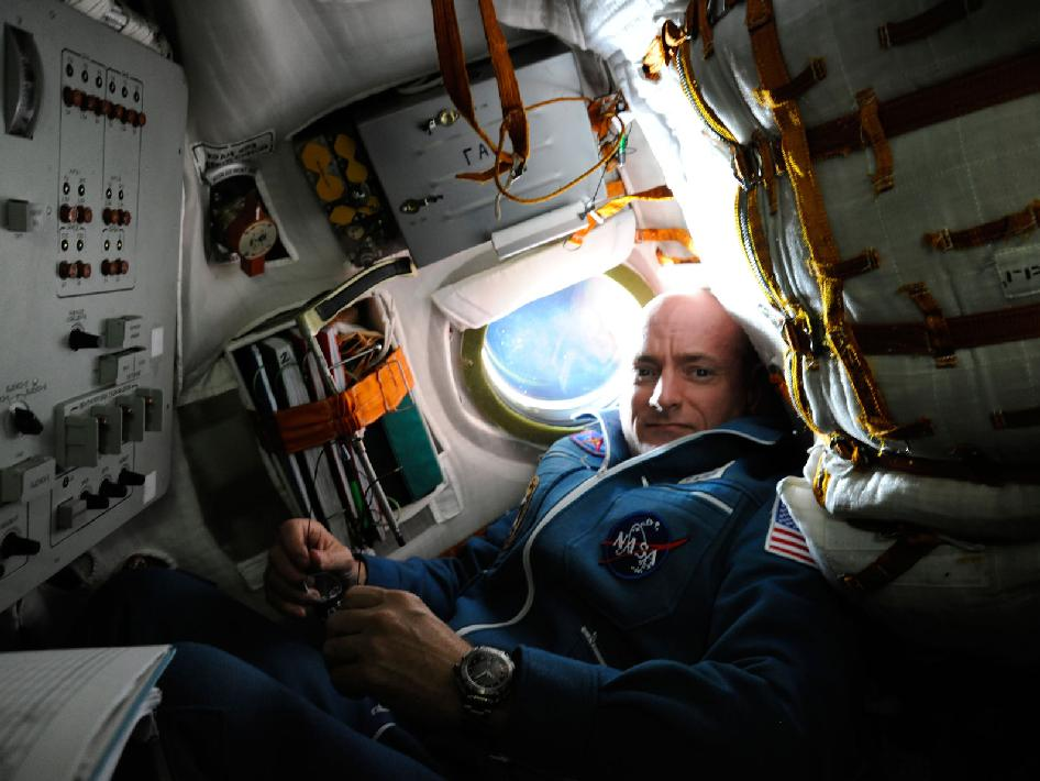 Inside the Soyuz TMA-01M Spacecraft