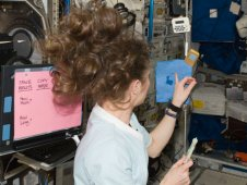 Experiments aboard the International Space Station