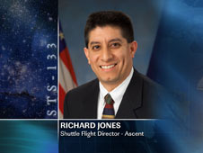 Richard Jones, Shuttle Flight Director - Ascent