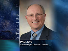 Paul Dye, Shuttle Flight Director - Team 4