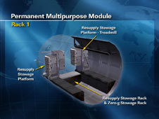 Permanent Multipurpose Module - Rack 1