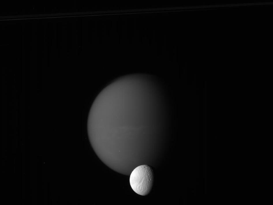 Titan and Tethys