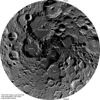 LRO image from October 5, 2010
