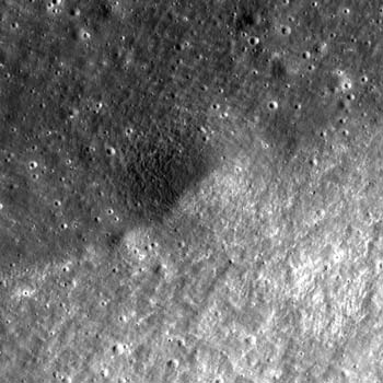 LRO image from October 7, 2010