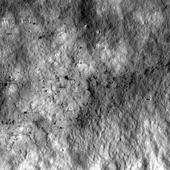 LRO image from October 8, 2010