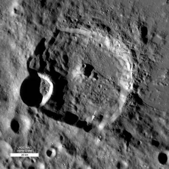 LRO image from October 12, 2010