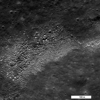 LRO image from October 15, 2010