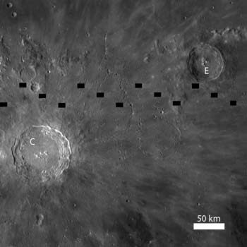 LRO image from October 20, 2010