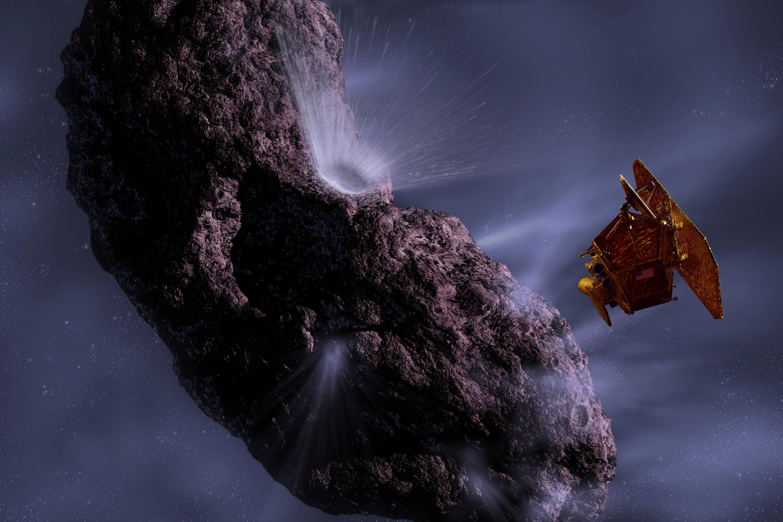 artist concept nasa comet - photo #5