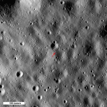 LRO image from Oct. 26, 2010