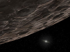 Artist's Conception of a Kuiper Belt Object