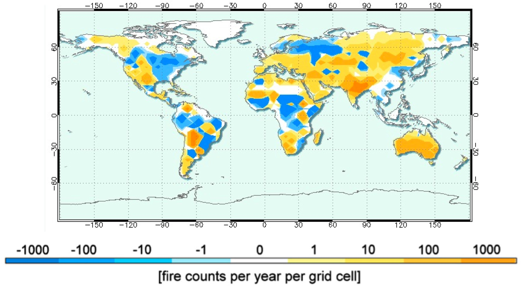 NASA NASA Models Earths Fiery Past And Future - Us national forest fire map