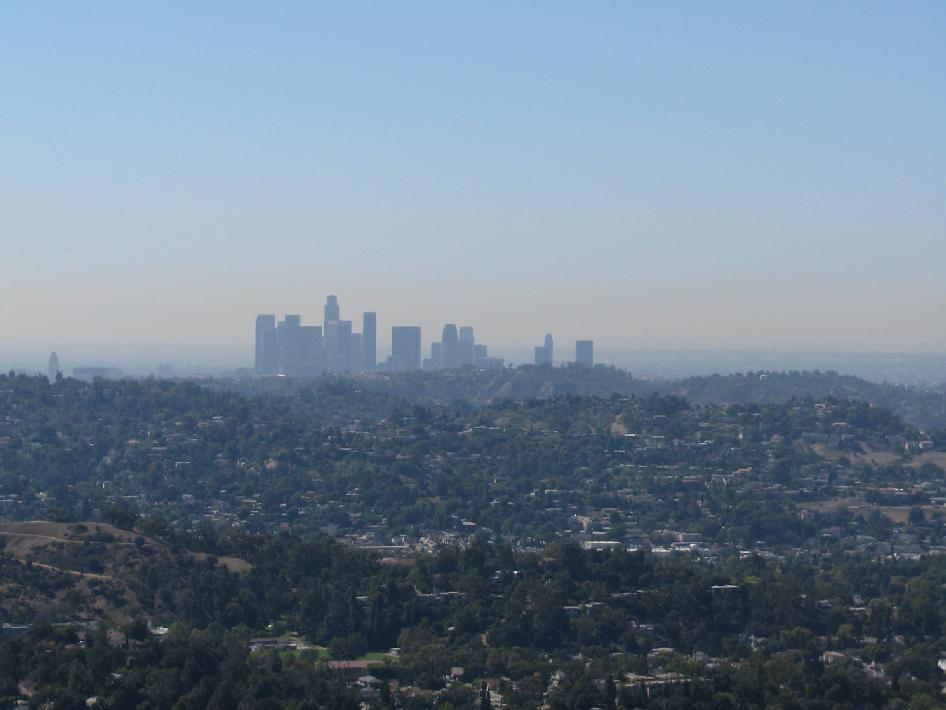 los angeles smog issues