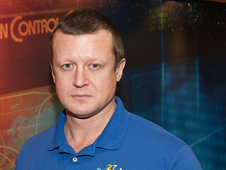 JSC2010-E-132883 -- Expedition 26 Flight Engineer and Expedition 27 Commander Dmitry Kondratyev