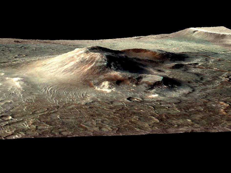 Mars Volcano, Earth's Dinosaurs Went Extinct About the ...