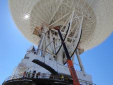 NASA's Deep Space Network complex in Goldstone, Calif.