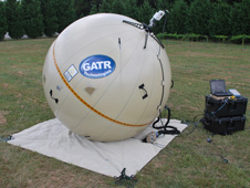 GATR emergency satellite communications system