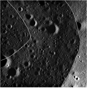 LRO image from Nov. 2, 2010