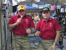 Doug Wheelock and Scott Kelly