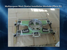 Multipurpose work station worksite
