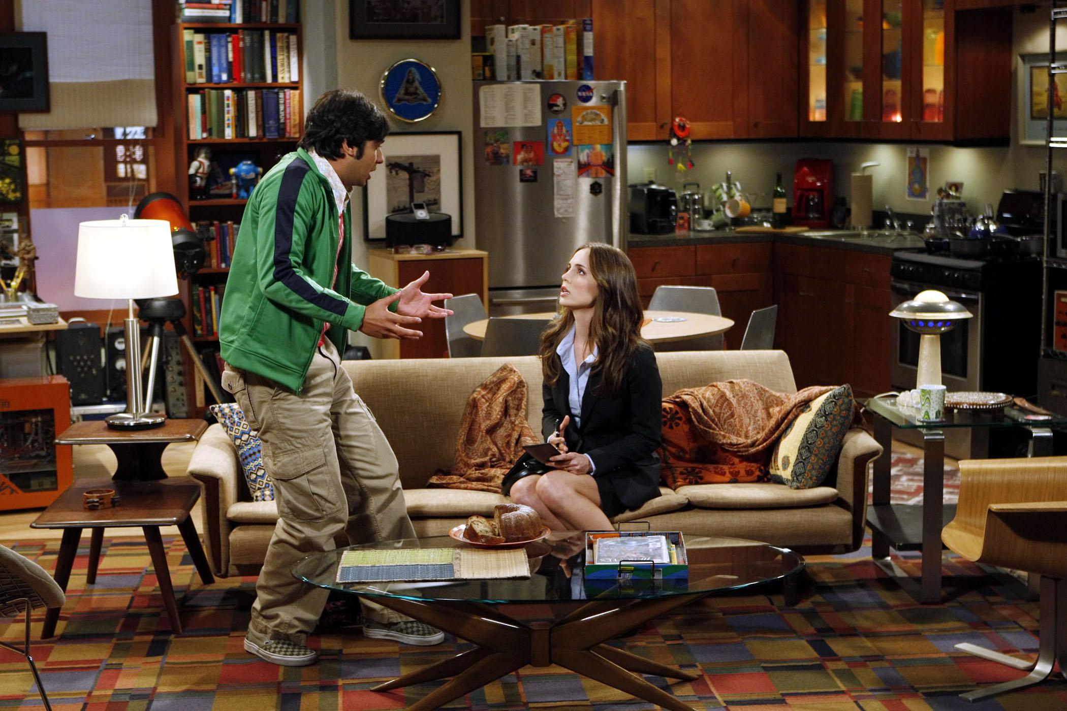 Nasa Nasa Goes To The Set Of Cbs S The Big Bang Theory