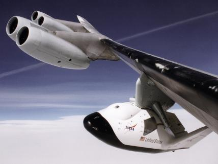 Crew Return Vehicle X-38  - Image courtesy of NASA