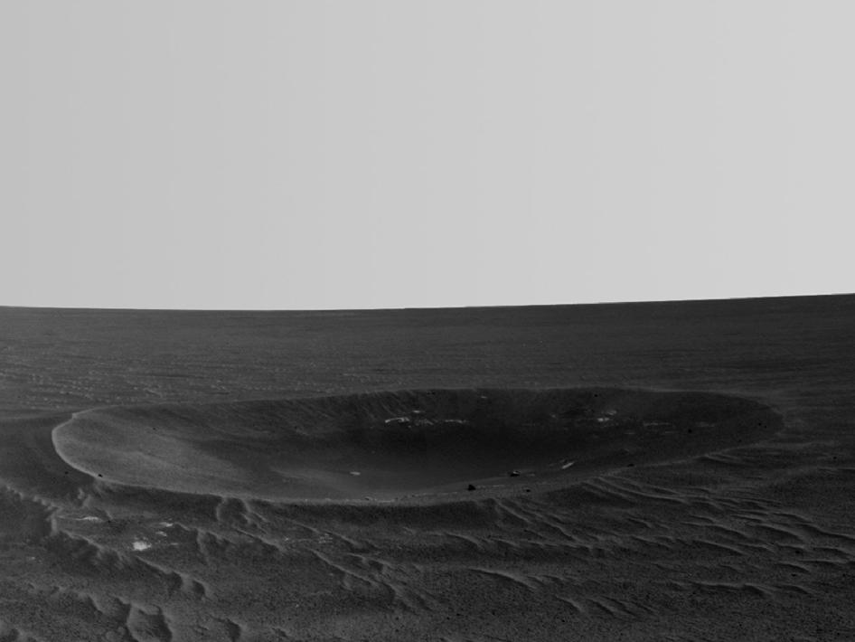 'Yankee Clipper' Crater on Mars