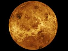 Venus - Computer Simulated Global View