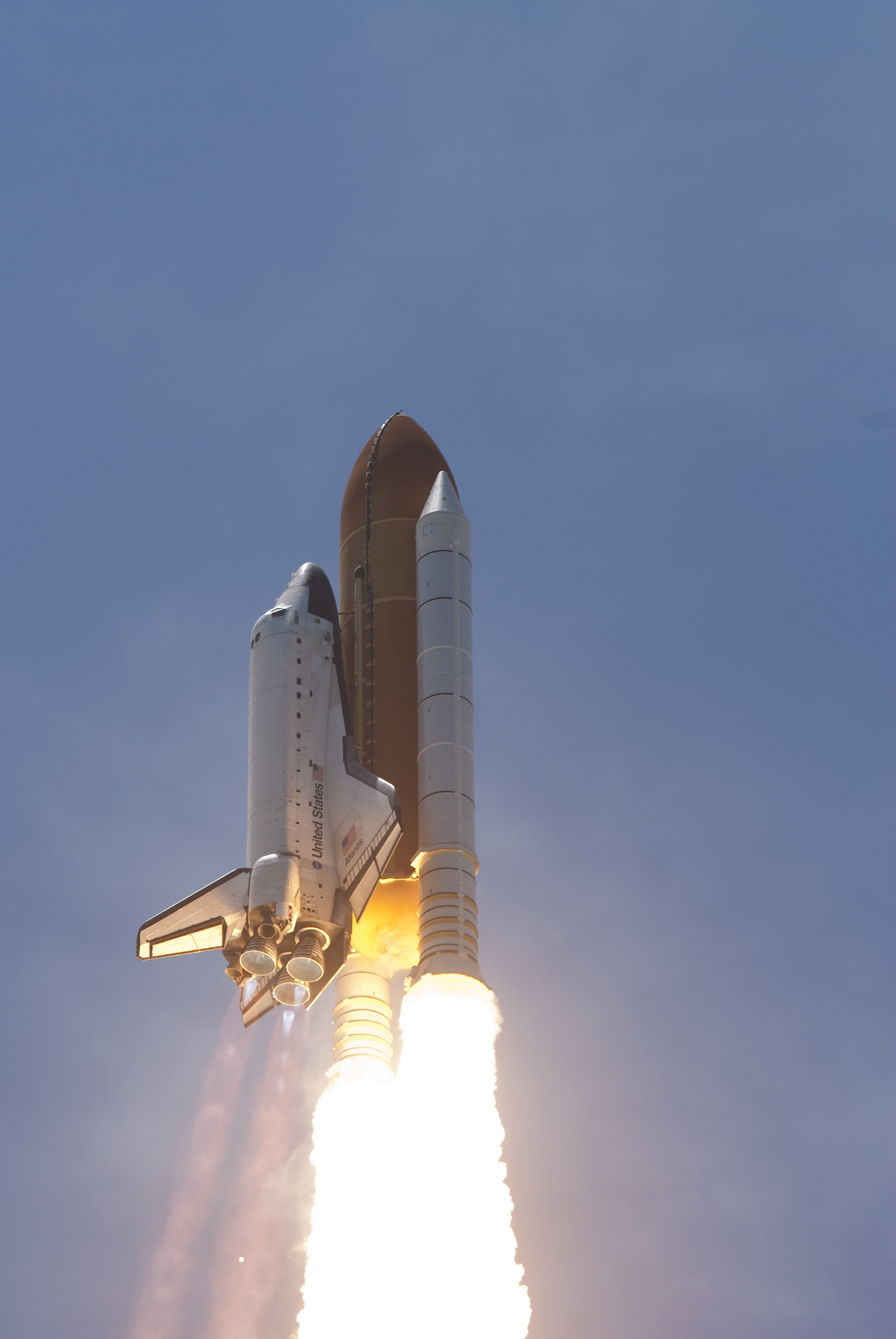 space shuttle engines firing - photo #5
