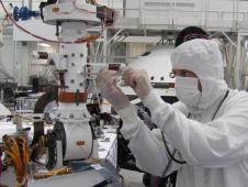 Weather sensors on NASA's Mars rover Curiosity