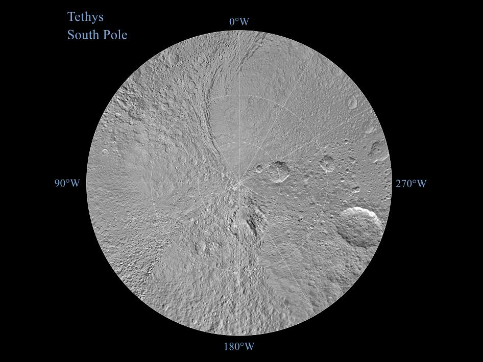 Tethys Polar Maps