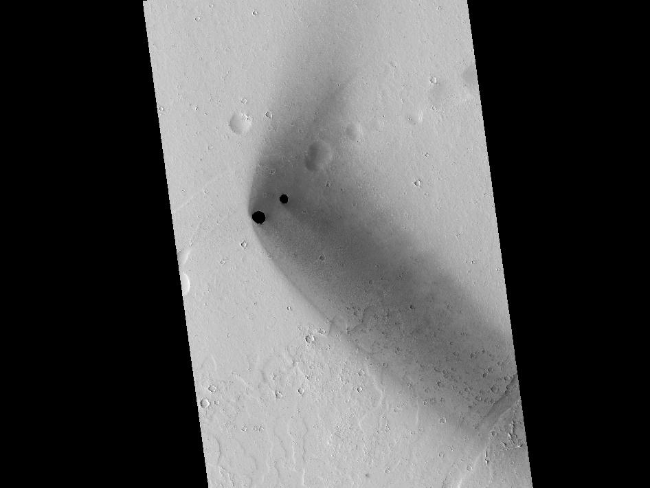 rimless pits in the Tharsis region