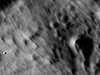 Far edge of the Giordano Bruno crater ejecta blanket