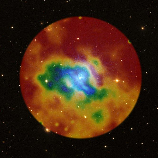 Intergalactic Weather Map   NASA