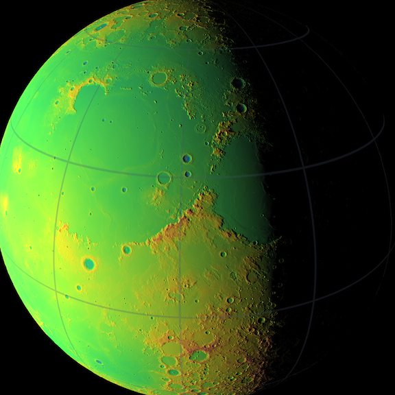 topographic map of earth nasa - photo #13