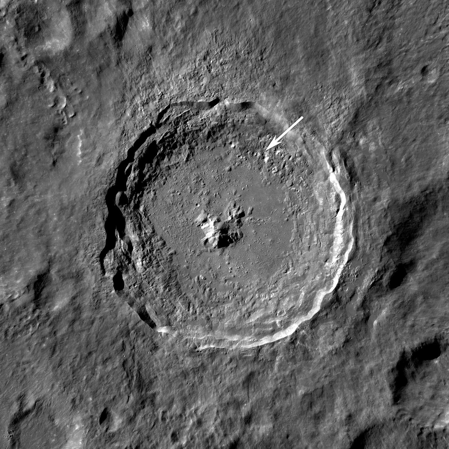 impact craters nasa - photo #13