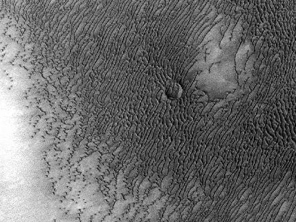 Mars Odyssey All Stars - Dunes Engulf Crater