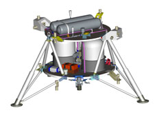 The Warm Gas Test Article (WGTA) provides a platform to develop and test algorithms, sensors, avionics, software, landing legs, and integrated system elements to support autonomous landings on airless bodies, where aero-braking and parachutes are not options.