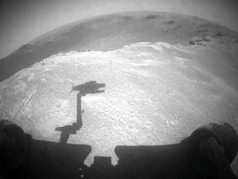 NASA's Mars Rover Opportunity gained this view during the 2,459th Martian day, or sol of the rover's work on Mars