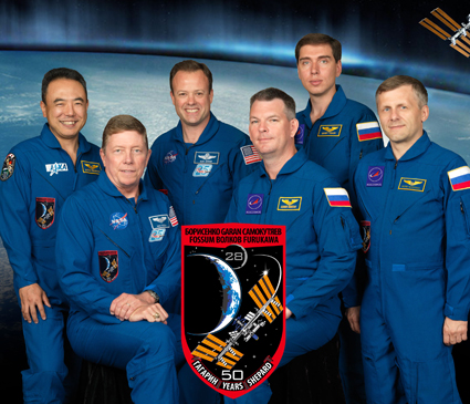 iss028-s-002 -- Expedition 28 crew