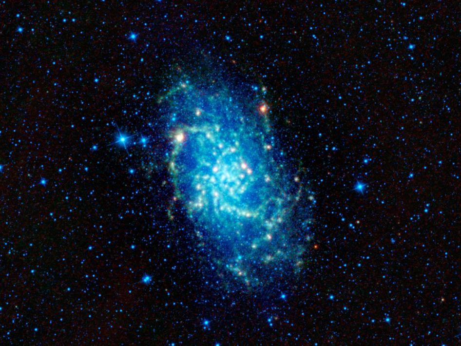 M33 - Triangulum galaxy seen in finfrared