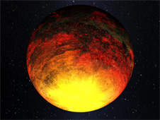 Artist Concept of Kepler 10b
