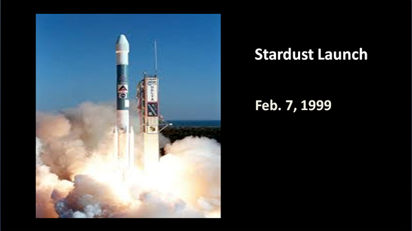 Stardust launch