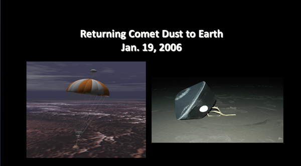 Returning Comet Dust to Earth